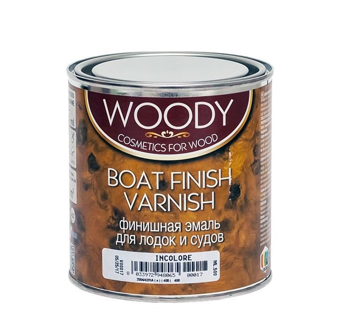 Эмаль WOODY BOAT FINISH VARNISH текстура